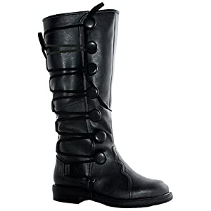 Ellie Shoes Men's 1″ Renaissance Inspired Boot Sizes