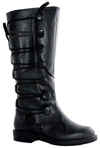 Ellie Shoes Heren 1 Op Renaissance Geïnspireerde Bootmaten) Blkp