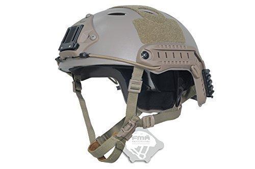 compra H mundo FMA Tactical Airsoft ajustable rápido casco PJ NVG Mount de protección para táctico para Airsoft y...