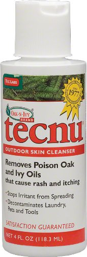 TECNU Poison Ivy/Oak/Sumac Skin Cleanser, 4 One Color One Size