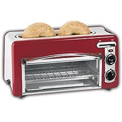 Hamilton Beach 22703 Toastation Toaster and Oven, Red