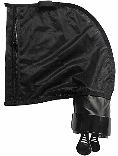 ATIE PoolSupplyTown Aftermarket Pool Cleaner Black All Purpose Bag Replace 280 Black Max 280 All Purpose Zipper Bag K23, (Polaris Black Bag)