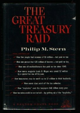 The Great Treasury Raid by Philip M. Stern