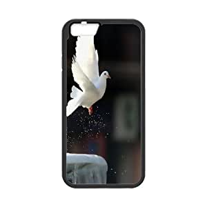 -ChenDong PHONE CASE- For Apple Iphone 6 Plus 5.5 inch screen Cases -Holy & Peace Dove-UNIQUE-DESIGH 13