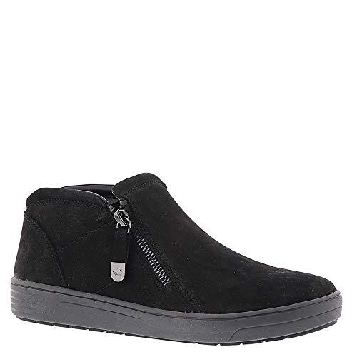 Easy Spirit Womens Novia Leather Closed Toe Ankle Fashion Boots, Black, Size 8.0