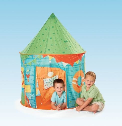 Kidoozie My Clubhouse Playhouse Tent with Front Door Flap and 1 - Clubhouse My