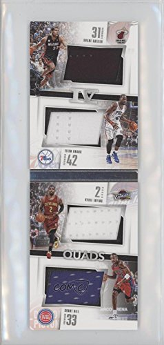 Elton Brand; Shane Battier; Grant Hill; Kyrie Irving #3/149 (Basketball Card) 2015-16 Panini Preferred - Quads Booklets #Q-DUKE