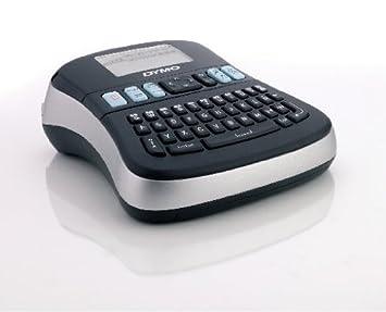 Selbstklebend, f/ür den Drucker LabelManager, 12 mm x 7 m Rolle schwarz auf wei/ß D1-Etiketten Dymo LabelManager 210D Professionelles Beschriftungsger/ät
