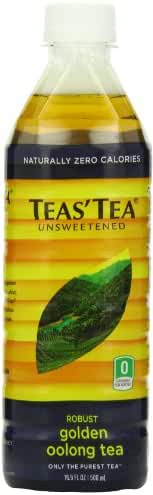 Teas' Tea Unsweetened Golden Oolong Tea, 16.9 Ounce (Pack of 12) Packaging May Vary