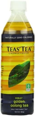 Teas' Tea Unsweetened Golden Oolong Tea, 16.9 Ounce (Pack of 12)