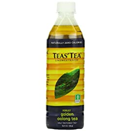 Teas' Tea 79 TEAS' TEA ORGANIC UNSWEETENED ROBUST golden oolong tea has a robust taste, golden color & beautiful aroma. Oolong tea goes well with oily or fried foods, & recent research suggests that it may help speed up metabolism, prevent obesity & fight tooth decay. ICED REFRESHMENT: ITO EN's line of ready-to-drink teas provide you with deliciously refreshing iced teas from our Sencha Shots and Cold Brew Matcha to Jasmine Green Tea, Golden Oolong, Herbal Chamomile, and Mint Green Tea. It's pure iced refreshment. REFRESHINGLY GREEN: Green tea has long been revered for its high antioxidant content & as part of traditional Japanese tea ceremonies. Long regarded as a key to good health, happiness & wisdom, tea is the perfect refreshment for your health & well-being.