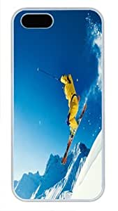 Houston Astros Iphone Case's Shop Hot 2104963M113295813 Beautiful Type White Pc For SamSung Galaxy S6 Phone Case Cover - Interesting Skiing - Snowflake