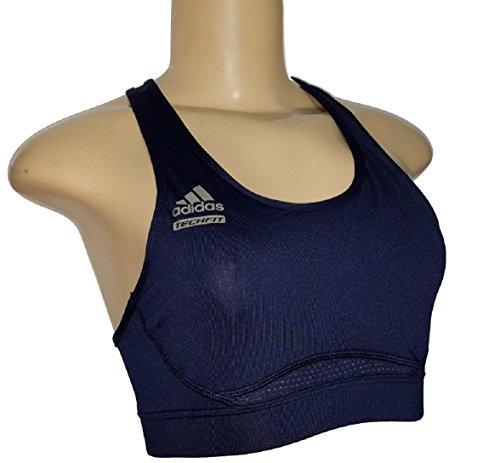 Adidas Navy Techfit Sports Bra (Medium) ()