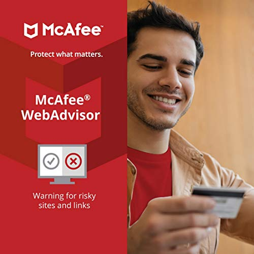 McAfee Anti-Virus - 1 PC, 1 Year (Email Delivery in 2 hours- No CD) 4