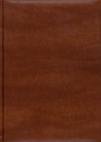 Pierre Belvedere Firenze Large Notebook, Padded Cover, Cognac (978470)