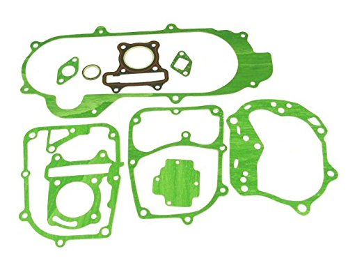 [PCP - COMPLETE GASKET SET GY6 49cc 50cc QMB139 MOPED SCOOTER ROKETA PEACE ICE TANK] (Complete Gasket Set Part)