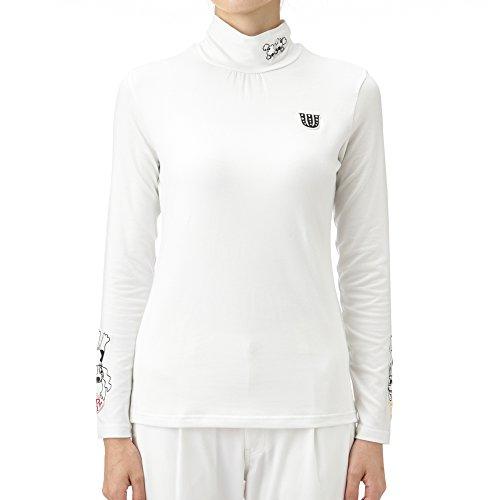 MU SPORTS(エム ユースポーツ) 701V6416 ストレッチ ハイネックシャツ ホワイト Lサイズ 701V6416 ホワイト