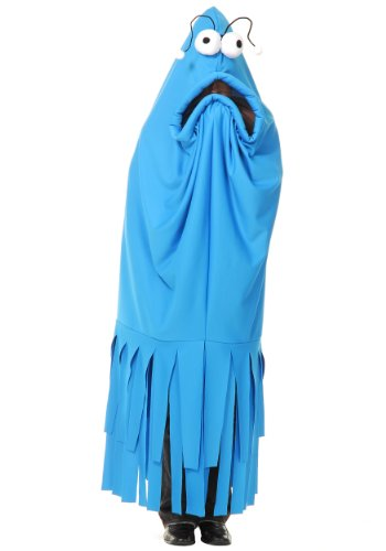 Charades Adult Monster Madness Costume, Blue ()