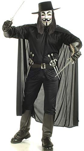 V Vendetta Complete Costume
