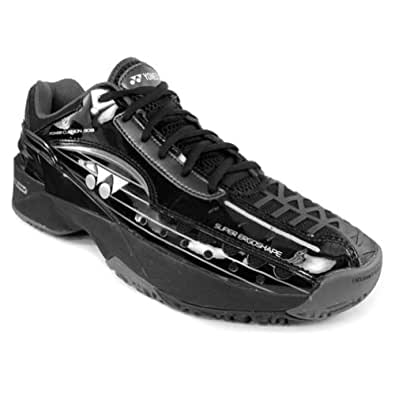 Yonex Power Cushion 308 Mens Tennis Shoes Black/Silver 13 M US