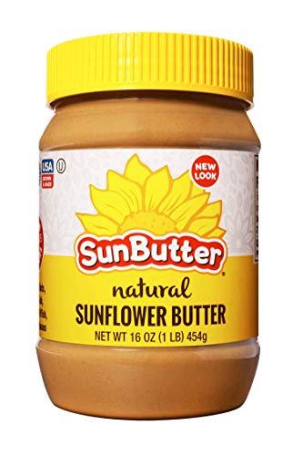 (SunButter Natural Sunflower Seed Spread 1 16 oz Plastic Jar)