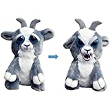 William Mark Feisty Pets Junkyard Jeff Adorable Plush Stuffed Goat that Turns Feisty with a Squeeze