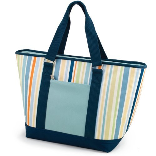 (ONIVA - a Picnic Time Brand Topanga Insulated Cooler Tote, St. Tropez)