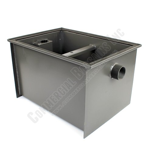 WentWorth 30 Pound Grease Trap Interceptor 15 GPM Gallons Per Minute WP-GT-15 by Wentworth (Image #2)