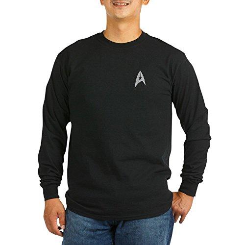CafePress StarTrek TOS Uniform Gold Unisex Cotton Long Sleeve T-Shirt ()