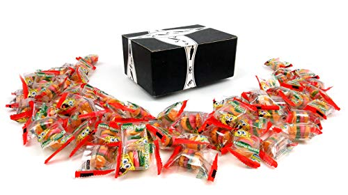 Gummy Krabby Patty (SpongeBob SquarePants Gummy Krabby Patties Candy, 6.34 oz Bags in a BlackTie Box (Pack of)