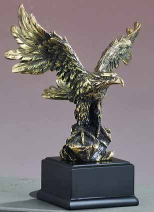 Great Eagle American (Gold Eagle Statue - American Eagle Sculpture)