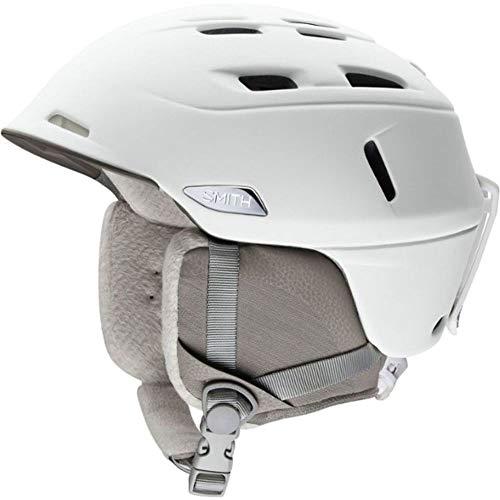 Smith Optics Womens Compass MIPS Ski Snowmobile Helmet - Pearl White/Medium ()
