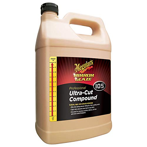 (Meguiar's M10501 Mirror Glaze Ultra-Cut Compound, 1 gallon, 1 Pack)