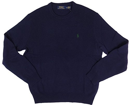 Polo Ralph Lauren Mens Crew-Neck Wool Pony Logo Sweater for sale  Delivered anywhere in USA