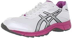 ASICS Women's Gel-Quick Walking Shoe,White/Lightning/Pink,9.5 M US
