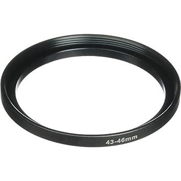 Phot-R 55-58mm Negro Aluminio Step Up Stepping anillo adaptador para filtros de camara y lentes