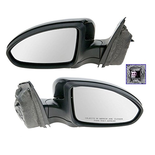 Side View Mirrors Power Paint To Match LH & RH Pair Set for 11-13 Chevy Cruze