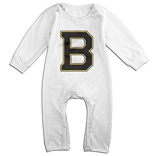 ROBERT Baby Infant Romper B Logo Unique Long Sleeve Jumpsuit Costume 24 Months
