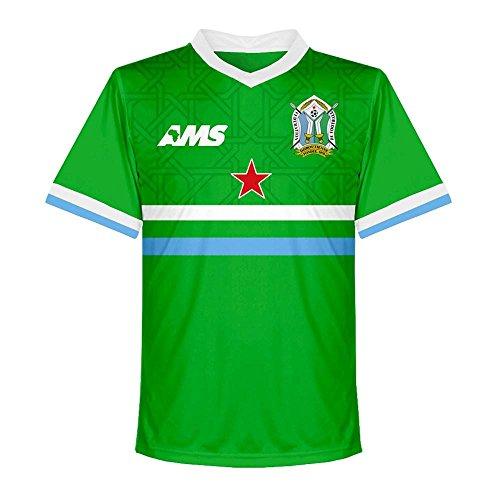 ギャップスリチンモイ救援2017-2018 Djibouti Away Football Shirt