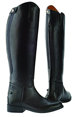 Saxon –Botas de equitación para adultos, color negro, negro, 6 negro