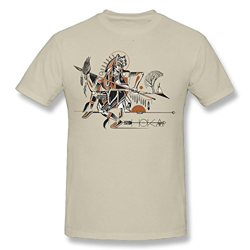 HSTee Men's HOKA Nahko And Medicine For The People T-shirt Natural