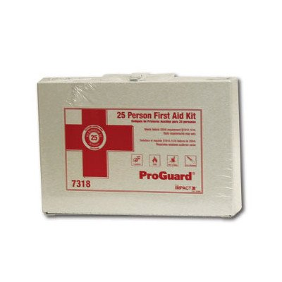 UPC 729661109692, Impact Products 7318 25-Person First Aid, White