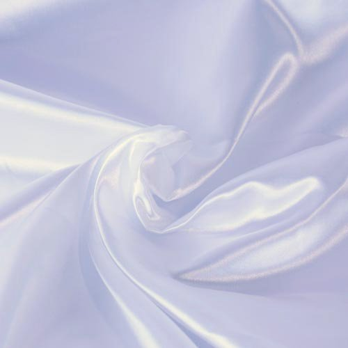 SOLID CREPE BACK SATIN FABRIC - WHITE - 60