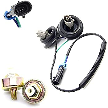 Amazon com: Engine Dual Knock Sensors + Wire Harness