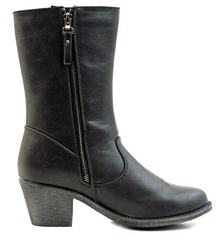 Luckers Womens Embellishment Boots J. Black lzF9X1