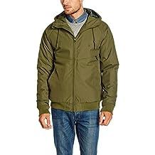 Volcom Men's Hernan Update Hooded Jacket Military FR: S (Manufacturer's Size: S) by Volcom