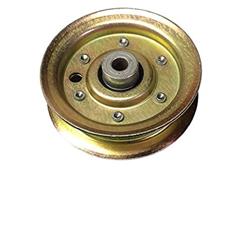 Ximoon Flat Idler Pulley replaces AYP, Husqvarna, Craftsman 104360X 131494 532131494 (Rear Sears Tire)