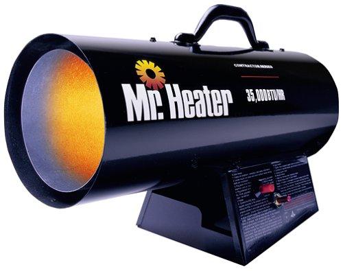 Mr. Heater 35,000 BTU Propane Forced-Air Heater #MH35FA 000 BTU Garage, Shop And Utility Heaters Heater Mr. Mr. Heater Propane
