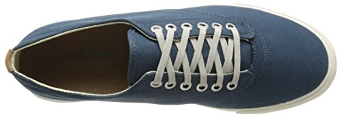 Seavees Mens Hermosa Plimsoll Banyan Mode Sneaker Orion Blue
