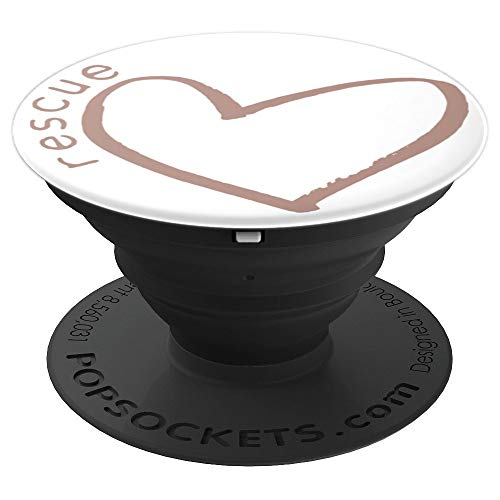 Be Mine Valentines Dog Rescue PopSockets Grip and Stand for Phones and Tablets